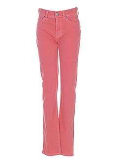 Pantalon casual orange ANGELIKA pour femme