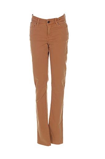 Pantalon casual jaune LEE COOPER pour femme