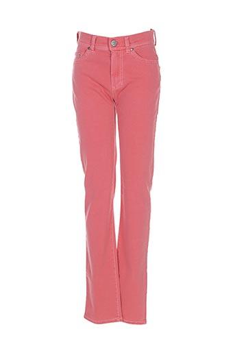 Pantalon casual orange ANGELIKA pour femme
