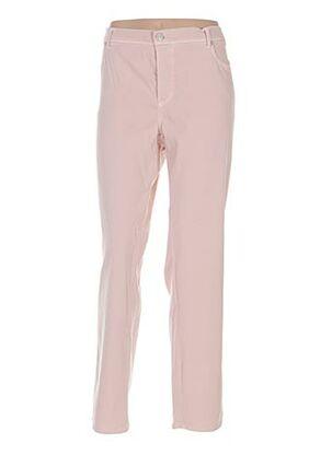 Pantalon casual rose ANGELIKA pour femme