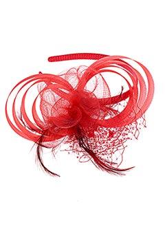 Accessoire pour cheveux rouge BOCAGE pour femme
