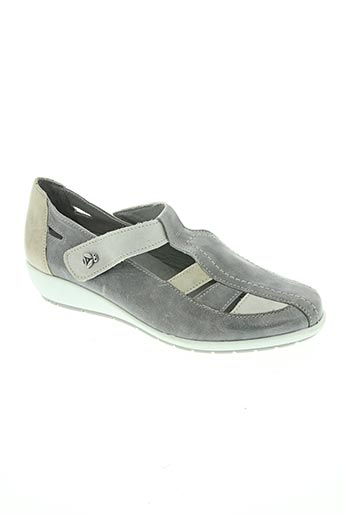 kiarflex chaussures femme de couleur gris