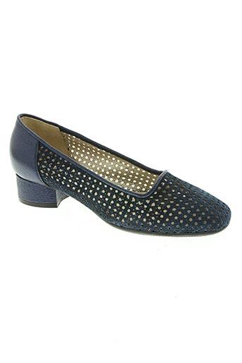 Escarpins bleu CONFORT pour femme