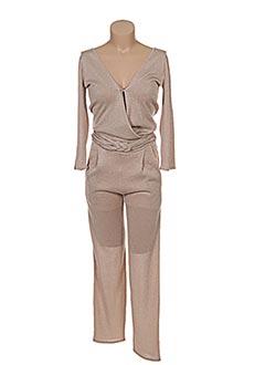 Combi-pantalon beige PATRIZIA PEPE FIRENZE pour femme