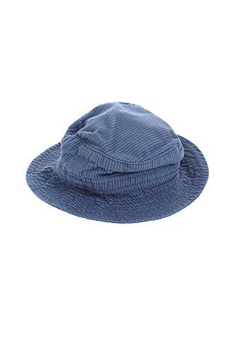 Chapeau bleu PETIT BATEAU pour garçon