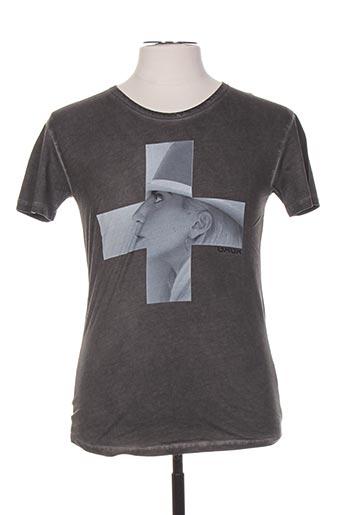 T-shirt manches courtes gris ARTISTS pour homme