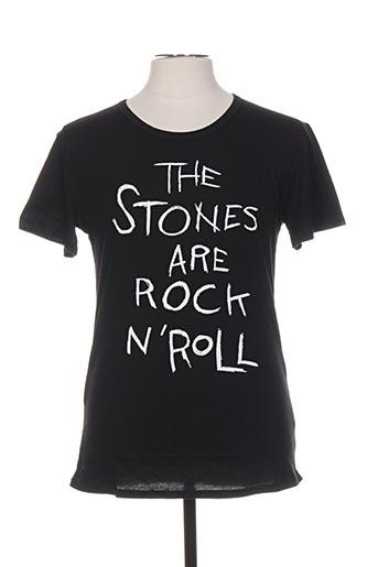 T-shirt manches courtes noir ARTISTS pour homme