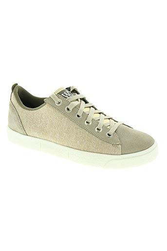 wos (walk on scales) chaussures femme de couleur beige
