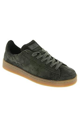 date chaussures homme de couleur vert