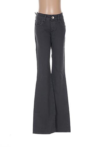 Pantalon casual gris COSTELLO pour femme
