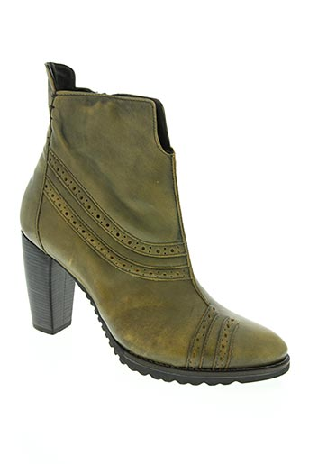 dkode chaussures femme de couleur vert