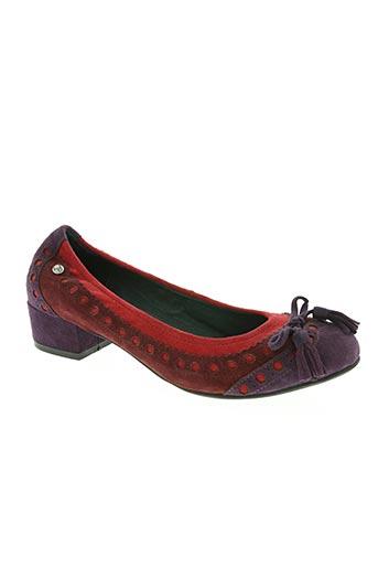 couleur pourpre chaussures femme de couleur rose
