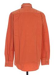 Chemise manches longues orange PIERRE CARDIN pour homme seconde vue