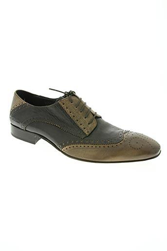 azzaro chaussures homme de couleur marron