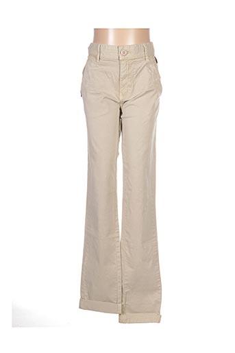 Pantalon casual beige KAPORAL pour garçon