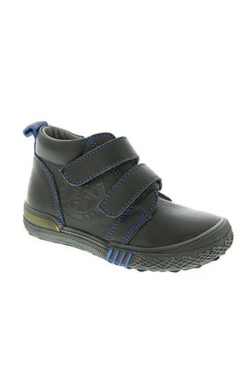 bopy chaussures garçon de couleur noir