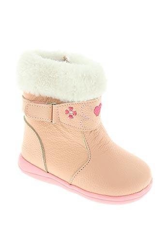 happy bee chaussures fille de couleur rose