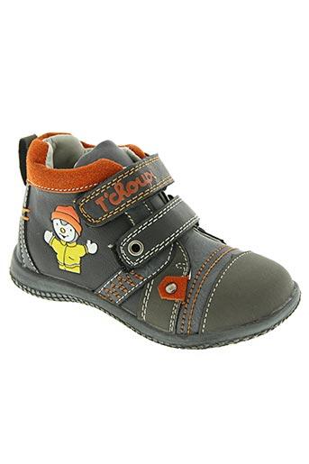 t'choupi chaussures garçon de couleur gris