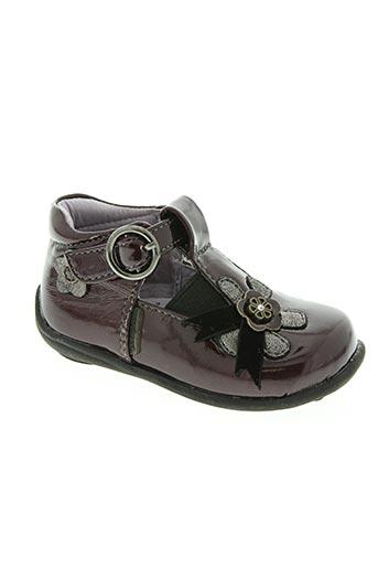 complices chaussures fille de couleur rouge