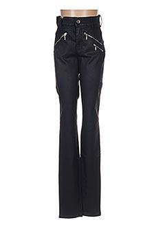Jeans skinny noir COUTURIST pour femme
