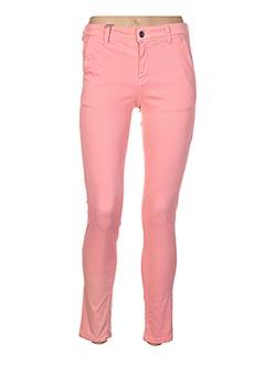 Pantalon casual rose COUTURIST pour femme