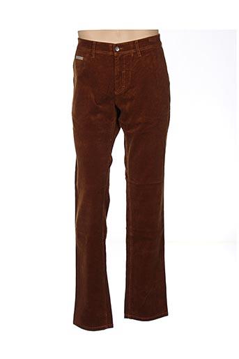 Pantalon casual marron COUTURIST pour homme