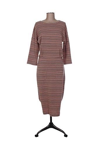 Robe mi-longue rose BRIC-A-BRAC pour femme