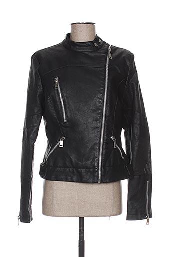 chic etjeune vestes femme de couleur noir