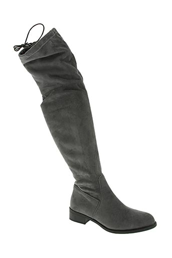 lov'it chaussures femme de couleur gris