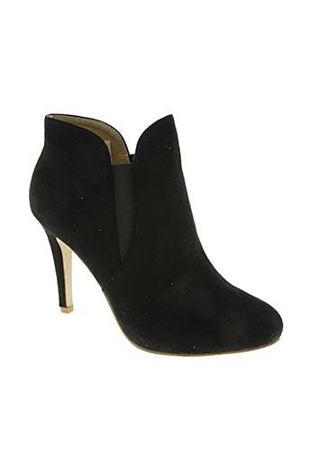 elong chaussures femme de couleur noir