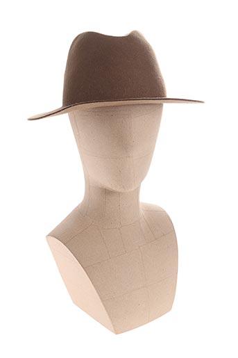 Chapeau marron A.P.C. pour femme