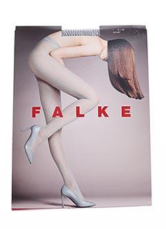 Collants gris FALKE pour femme