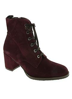 Bottines/Boots violet AMARU pour femme