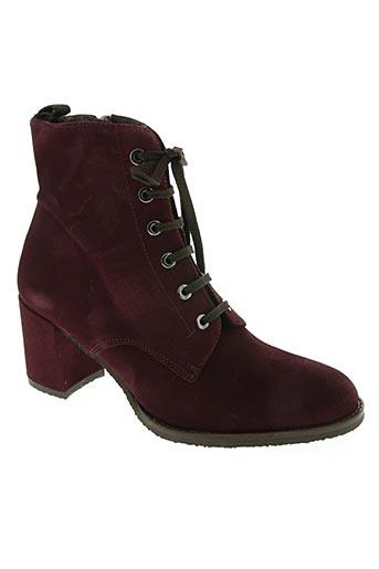 amaru chaussures femme de couleur violet