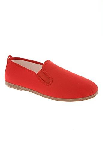roal chaussures homme de couleur rouge