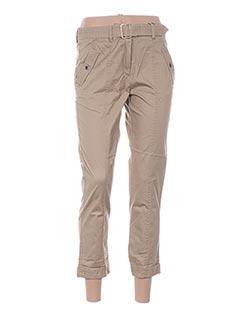 Pantalon 7/8 beige TOMMY HILFIGER pour femme