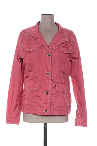Veste casual rose CONCEPT K pour femme