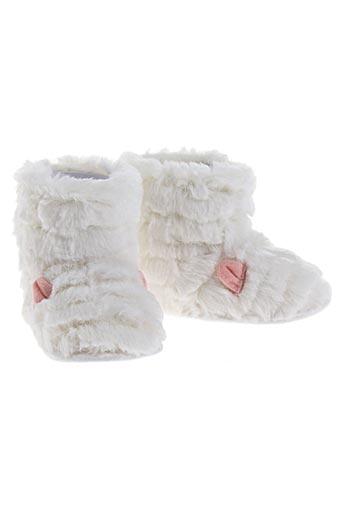 billieblush chaussures fille de couleur blanc
