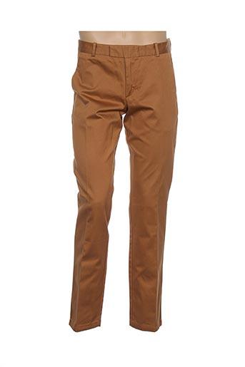 bruuns bazaar pantalons homme de couleur marron