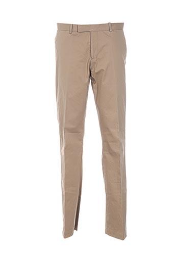 Pantalon casual beige BRUUNS BAZAAR pour homme