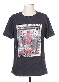 T-shirt manches courtes gris CLIQUE pour homme