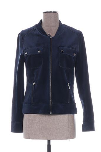 Veste casual bleu VOODOO pour femme