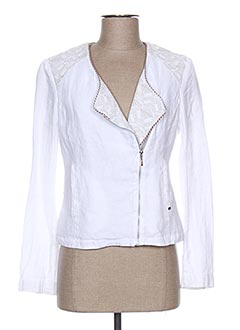 Veste casual blanc I.CODE (By IKKS) pour femme
