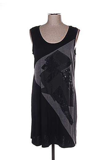 Robe courte noir ROSE POMME pour femme