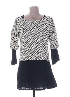 Top/robe noir BECKARO pour fille