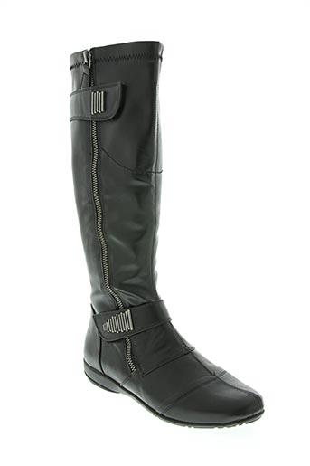 enza nucci chaussures femme de couleur noir