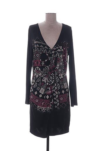 Modz Longues 1299719 Noir Robes De Couleur En Pas Mi Soldes Desigual Noir00 Cher 54RALj