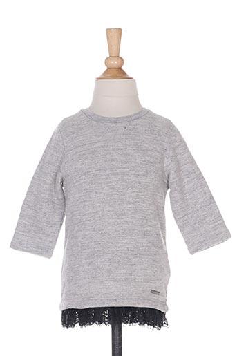 Sweat-shirt gris DSQUARED pour fille