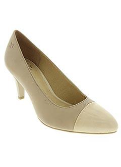 Escarpins beige CAPRICE pour femme