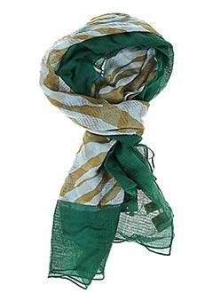 Foulard vert BECK SONDERGAARD pour femme